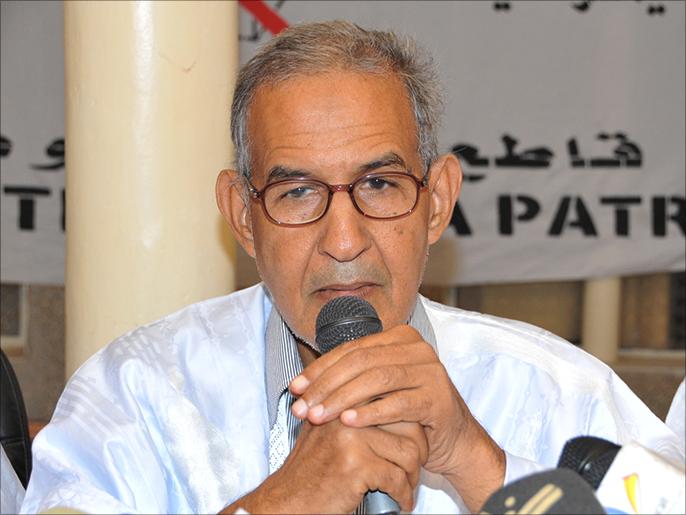 رئيس حزب تكتل القوى الديمقراطية أحمد ولد داداه