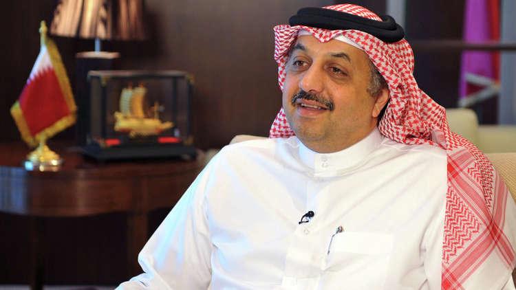 وزير الدولة لشؤون الدفاع القطري، خالد العطية