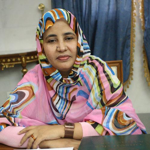 رئيسة المجموعة الحضرية أماتي منت حمادي