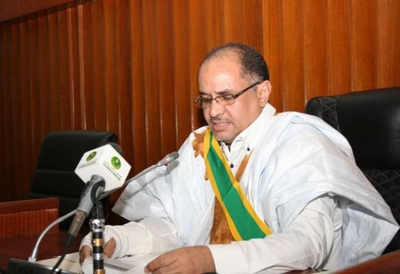 رئيس مجلس الشيوخ الموريتاني