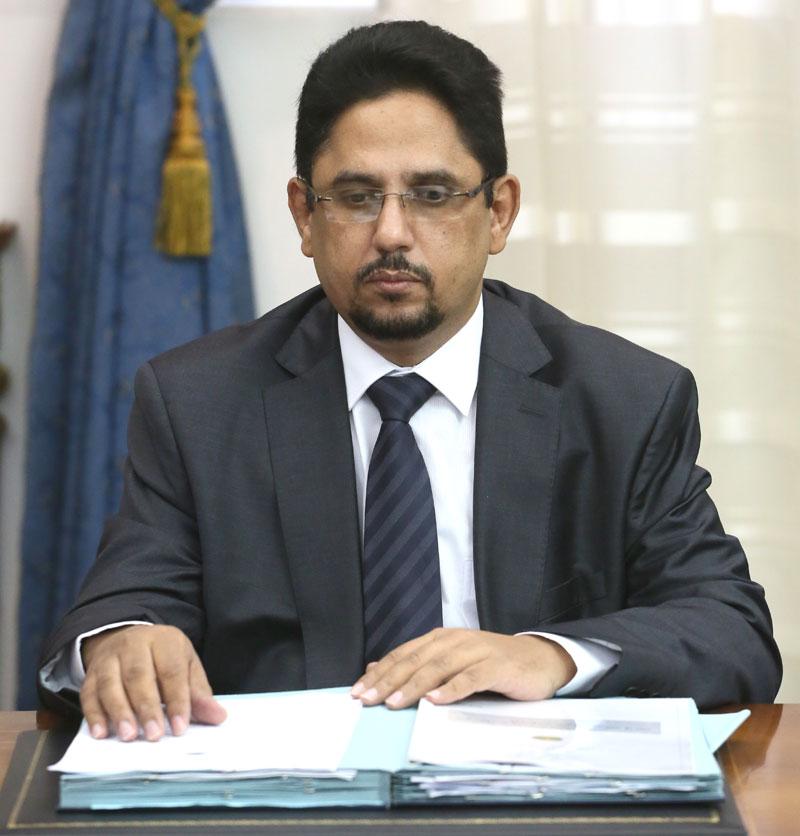 الوزير السيد محمد لمين ولد الشيخ