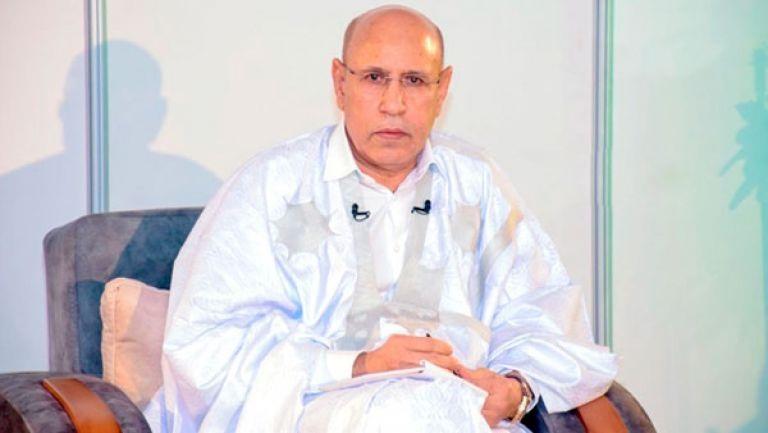 رئيس الجمهورية محمد ولد الشيخ الغزاوني