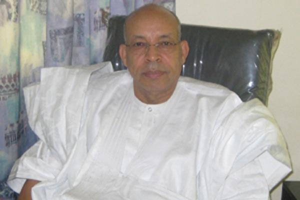 النائب الرئيس الدوري للمنتدى الوطني للديمقراطية والوحدة موسى فال