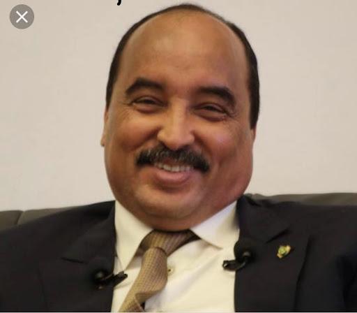 الرئيس السابق محمد ولد عبد العزيز