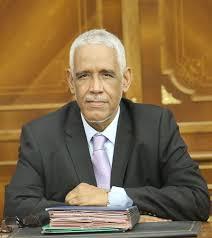 وزير العدل ابراهيم ولد عبد الله ولد داداه