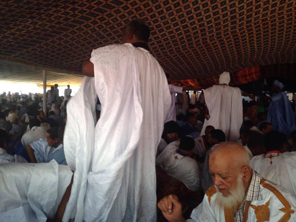 صورة من حفل استقبال الخليفة العام بأبي تليمت