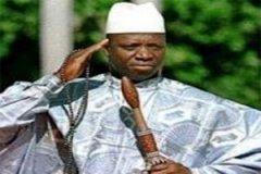 الرئيس الغامبي يحي جامي