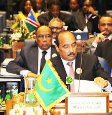 الرئيس الموريتاني محمد ولد عبد العزيز في القمة العربية