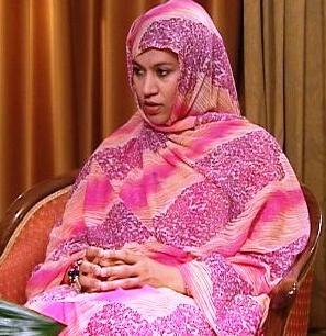 وزيرة التجارة والصناعة والسياحة السيدة الناها بنت حمدي ولد مكناس