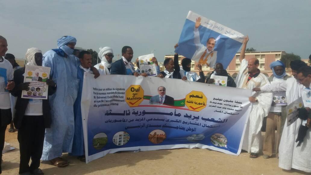 سخرية واسعة في مواقع التواصل الاجتماعي من مبادرة مليون توقيع في موريتانيا