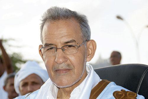 السيد أحمد ولد داداه، رئيس حزب تكتل القوى الديمقراطية