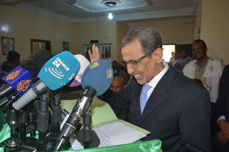 محمد فال ولد بلال رئيس اللجنة الوطنية المستقلة للانتخابات
