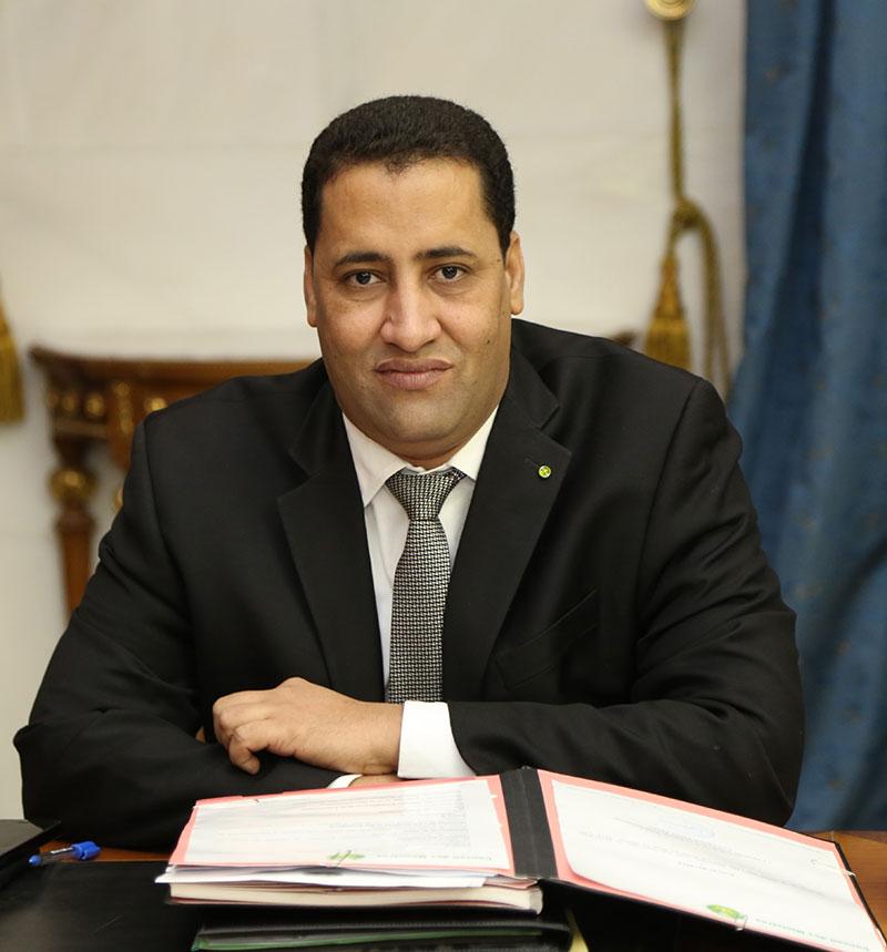 المختار ولد أجاي وزير الاقتصاد والمالية