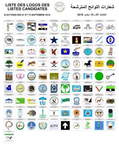 شعارات الأحزاب المشاركة في الانتخابات موريتانيا