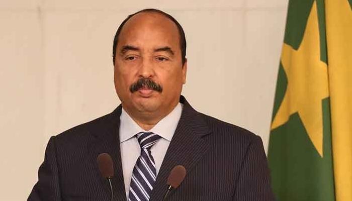 رئيس الجمهورية الاسلامية الموريتانية محمد ولد عبد العزيز