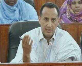 عضو مجلس الشيوخ الموريتاني محمد ولد غدة