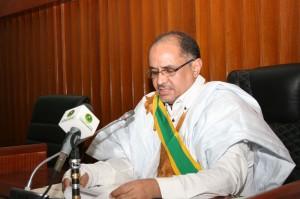 رئيس مجلس الشيوخ محسن ولد الحاج