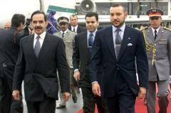 الصورة: الملك محمد السادس في زيارة رسمية لموريتانيا (26 أبريل 2000)