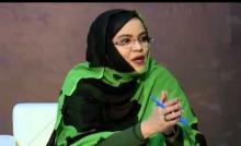 ميمونه بنت التقي وزيرة الشؤون الاجتماعية والطفولة والأسرة