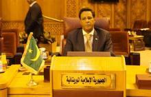 ودادي ولد سيدي هيبة سفير موريتانيا لدى مصر ومندوبها الدائم لدى الجامعة العربية
