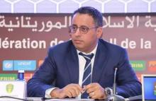 أحمد ولد يحيى رئيس الاتحاد الموريتاني لكرة القدم